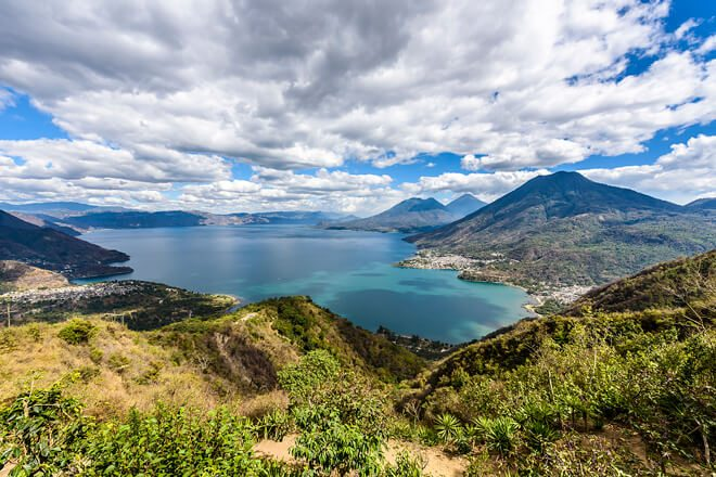 Escape to beautiful Lake Atitlán. Trip for 2!