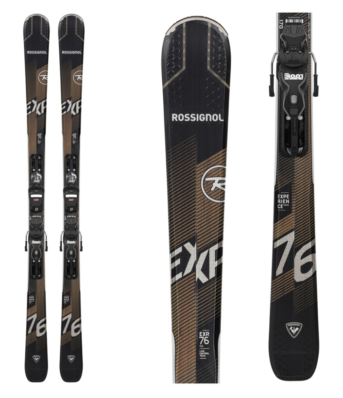 Rossignol Experience 76 CI Skis with Xpress 11 GW Bindings