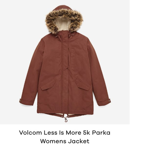 Volcom Less Is More 5k Parka Womens Jacket