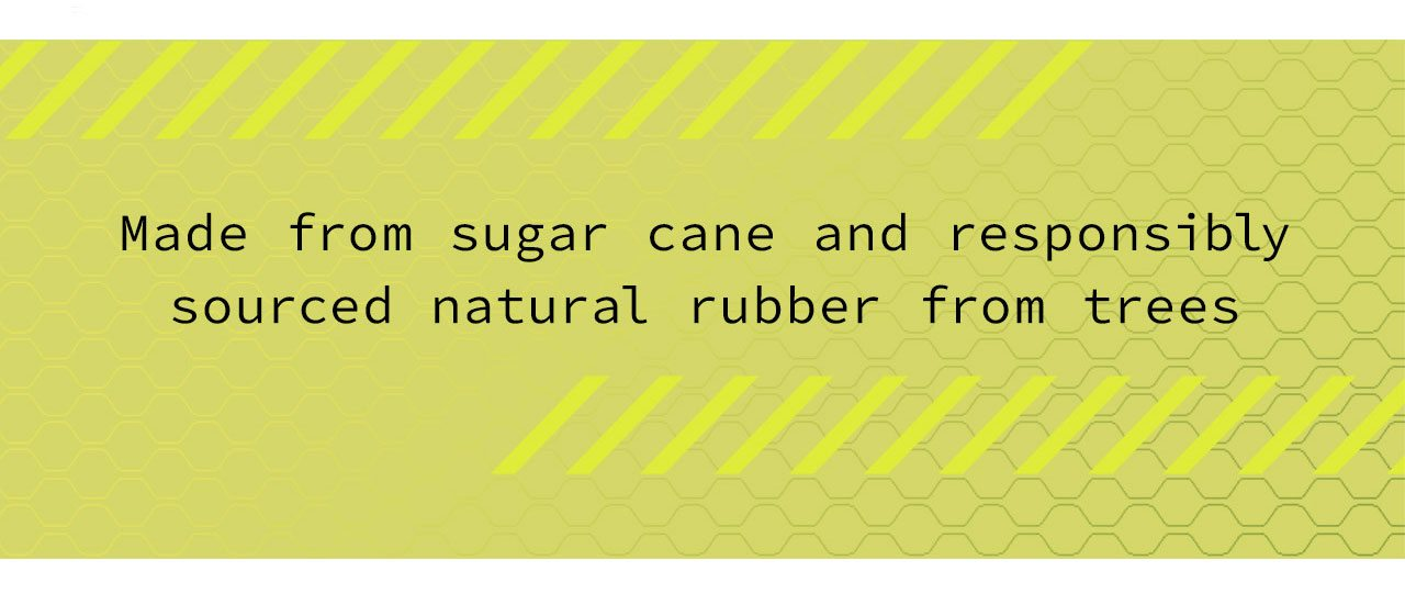 Made from sugar cane