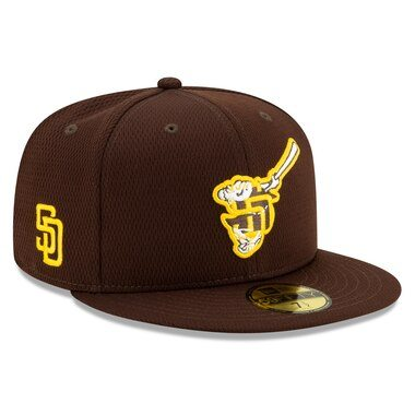 San Diego Padres New Era 2020 Spring Training 59FIFTY Fitted Hat – Brown