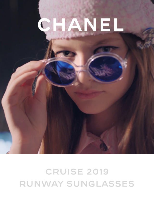 Cruise 2019 Runway Sunglasses Chanel Email Archive