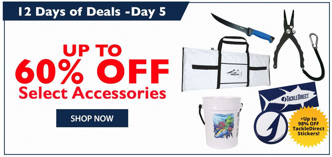 Up to 60% OFF Select Accessories