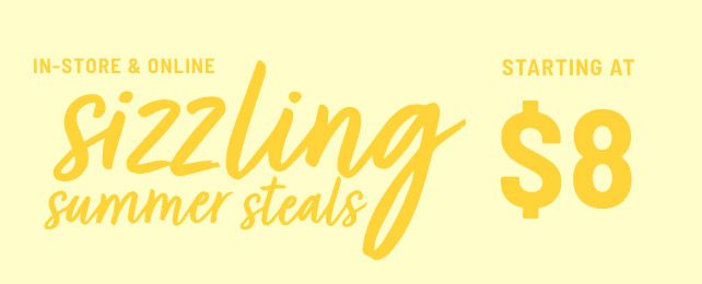 Sizzling Summer Steals