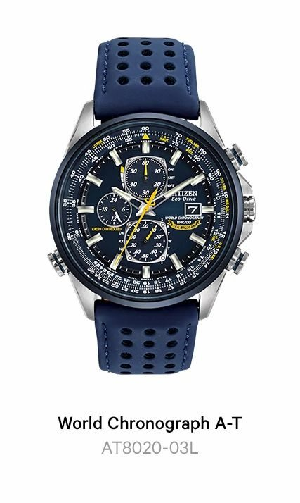 World Chronograph A-T - AT8020-03L