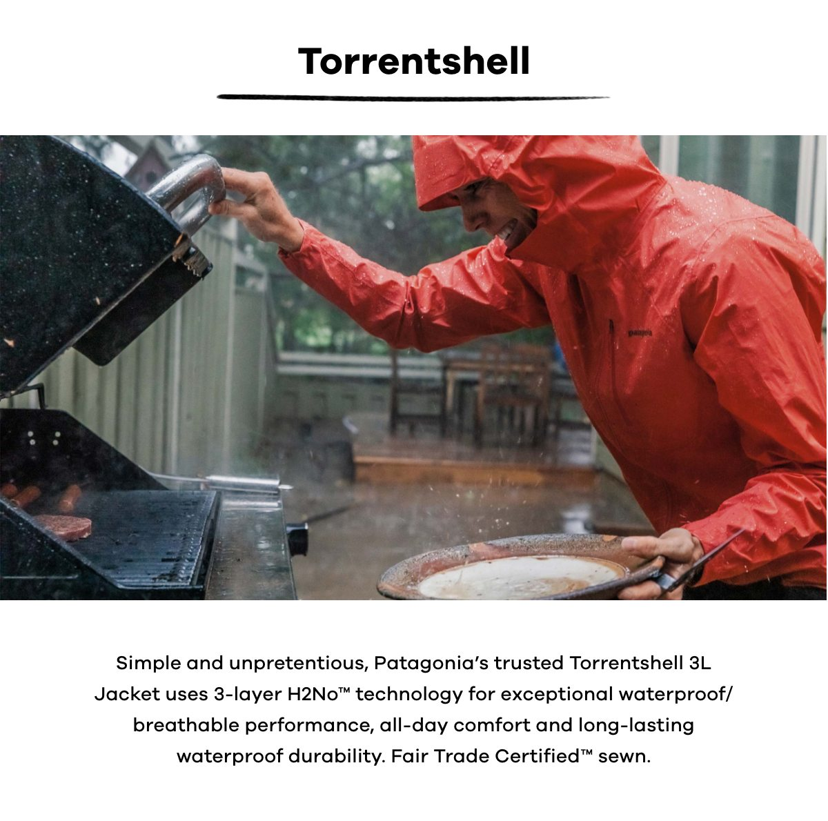Patagonia Torrentshell | Find out more