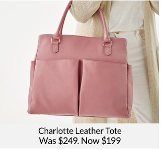 Shop Charlotte Leather Tote