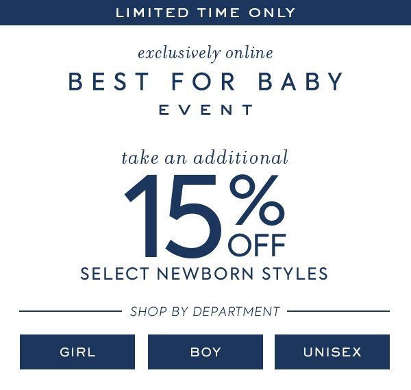 544c19474655 Extra 15% off, perfect for all those baby showers… - Janie and Jack ...