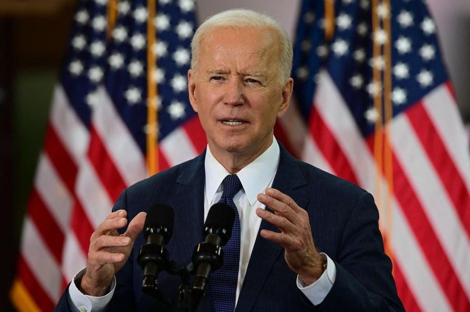 Biden Wants To Raise Taxes To Pay For Infrastructure Bill, But Says He's 'Open To Other Ideas'