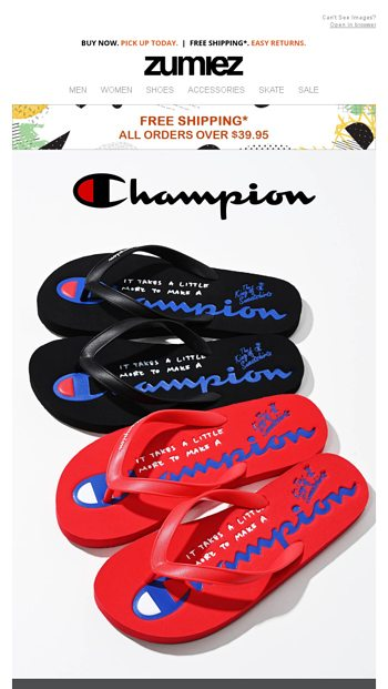 01583950a7c ⇨ NEW CHAMPION    Spring Hits + SALE - Zumiez Email Archive