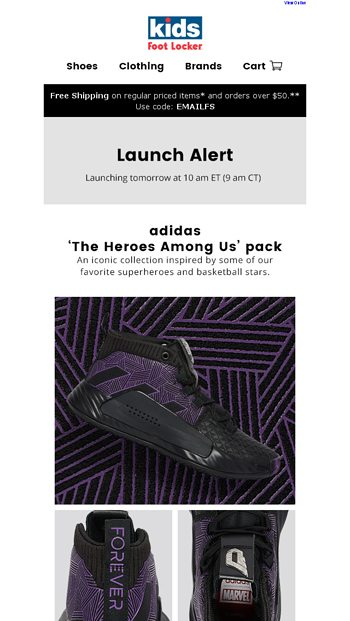 39b586454 Dropping 4.26  adidas  The Heroes Among Us  pack.