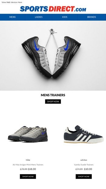 Treat Your Feet with the Freshest Footwear - SportsDirect ...