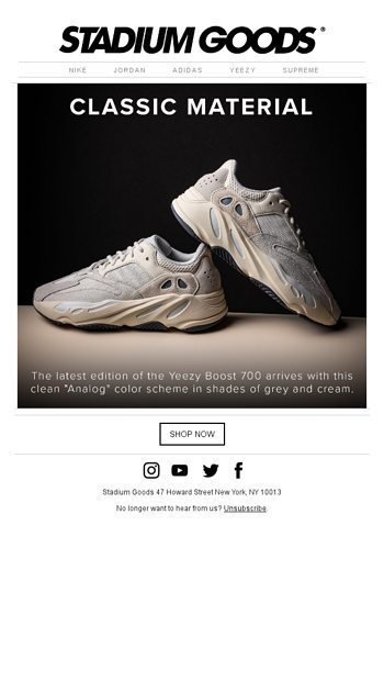 1187ed3ba Now available  adidas Yeezy Boost 700