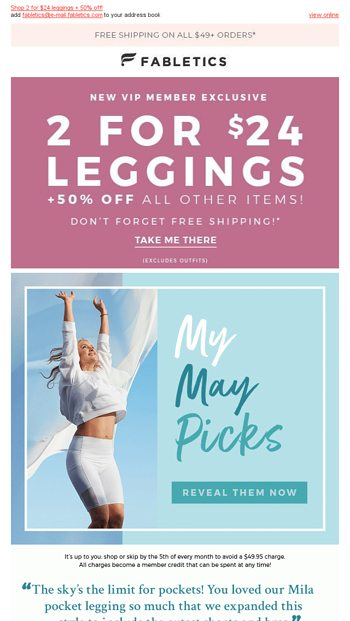 c174ff5612afe Psst... check out my Mila must-haves! - Fabletics Email Archive