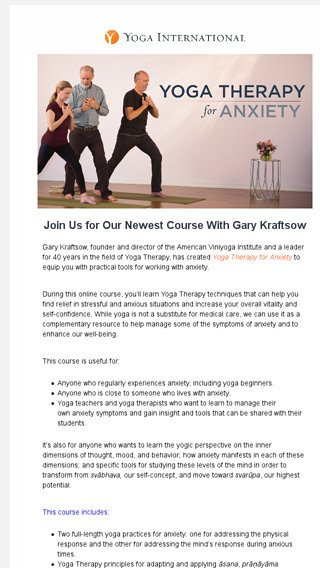 yoga for transformation kraftsow gary