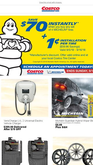 Michelin Penny Install Ends Sunday, 9/16! Winterize Your Car