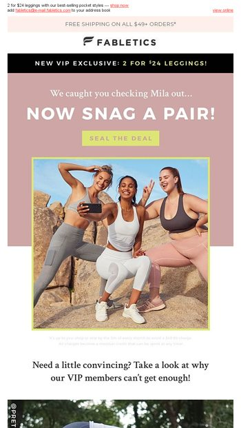c41ff38864579 Monday means Mila pockets! - Fabletics Email Archive