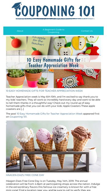 10 Easy Homemade Gifts For Teacher Appreciation Week And More