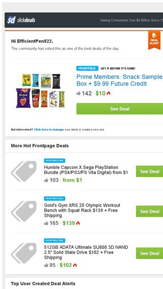 Slickdeals Best Deals Prime Members Snack Sample Box 9 99 Future Credit For 10 At Amazon Slickdeals Email Archive