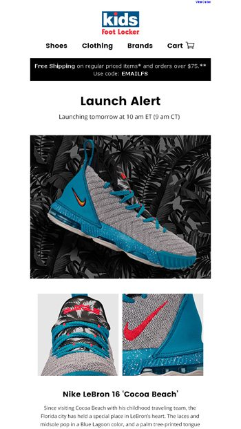 bbd319a648ce Launching 5.9  LeBron 16  Cocoa Beach  + PG 3.0  Catch and Release ...
