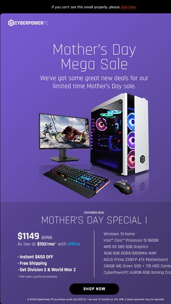 ✓ Holiday Savings on Gaming PCs in Time For Christmas