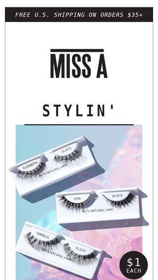 f6656556948 😻 New Lashes Inside! So Beautiful! - Miss A Email Archive