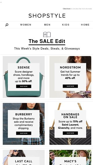 513d48501d2b 50% off designer must-haves - ShopStyle Email Archive