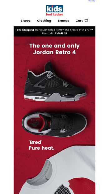 the latest 70afc 4ad94 Retro 4 lsquoBredrsquo Additional sizes available