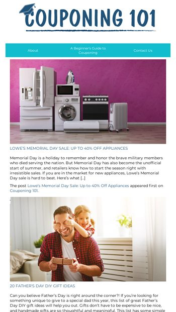 Lowe's Memorial Day Sale: Up to 40% Off Appliances and more