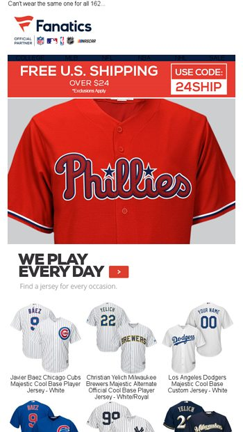 5005a362aad Add a Jersey to your Lineup - Fanatics.com Email Archive