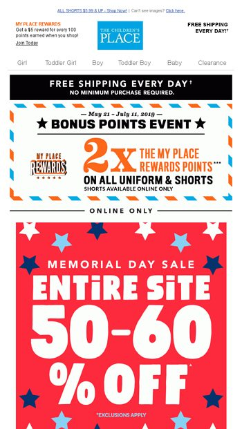 a634f3e49072f MEMORIAL DAY SALE! 50% TO 60% OFF ENTIRE SITE + FREE SHIPPING EVERY ...