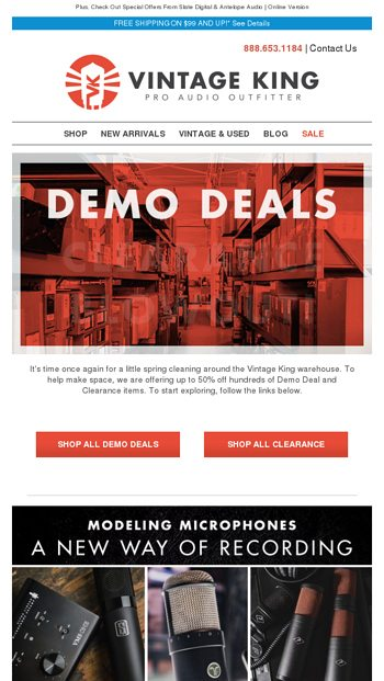 Demo Deal & Clearance Blowout + Exploring The World Of