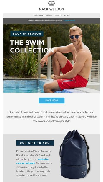 bd05102403 Swim is back—with a surprise. - Mack Weldon Email Archive