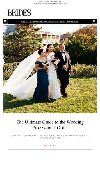 The Ultimate Guide To The Wedding Processional Order