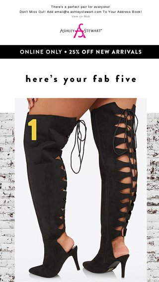 ad42bf5e905 FALL In Love With These Five Boots! 👢 - Ashley Stewart Email Archive