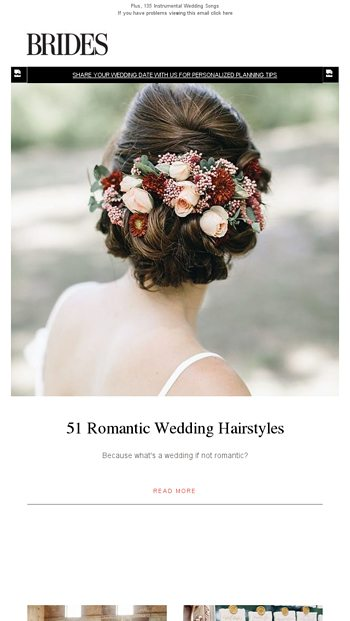 51 Romantic Wedding Hairstyles Brides Email Archive