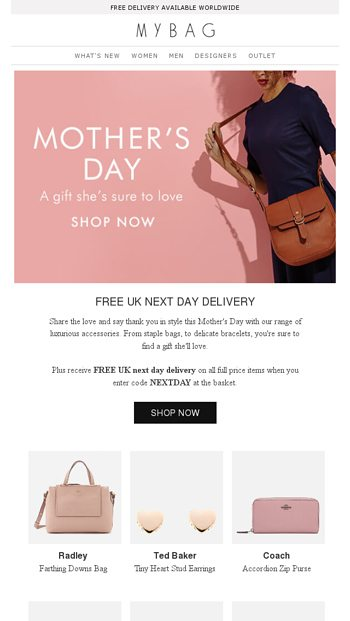 A Gift Shes Sure To Love Free Uk Next Day Delivery