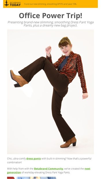 1d426099a0 ⚡POWER⚡Dress Pant Yoga Pants! - Betabrand Email Archive