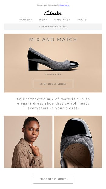 c9679756609 Introducing THE Tealia Sera - Clarks Shoes Email Archive