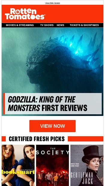 Godzilla: King of the Monsters' First Reviews - Rotten