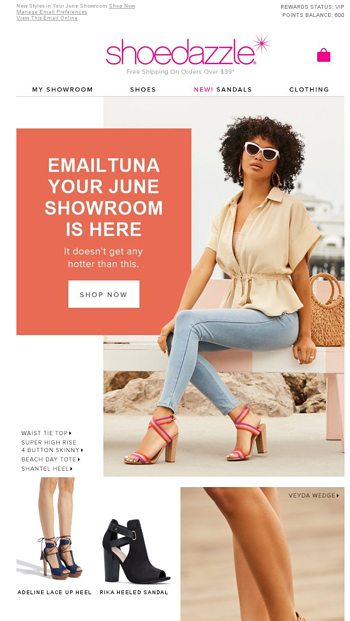 94f391588ebdf EmailTuna, Your New June Showroom Is Ready! - ShoeDazzle Email Archive