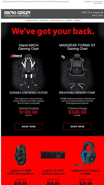 Incredible Weve Got Your Back 349 Maingear Forma Gt Gaming Chair Ibusinesslaw Wood Chair Design Ideas Ibusinesslaworg