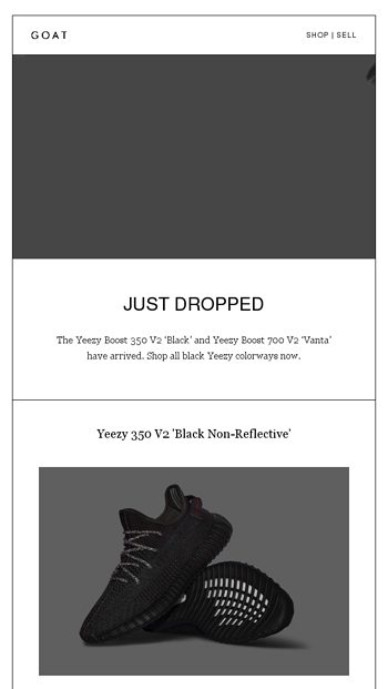 sports shoes f8180 ad176 Just Dropped: Yeezy Boost 350 V2 'Black' and 700 V2 'Vanta ...