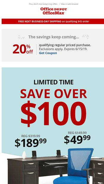 Hot New Furniture Seating Deals Save Over 100 Office Depot