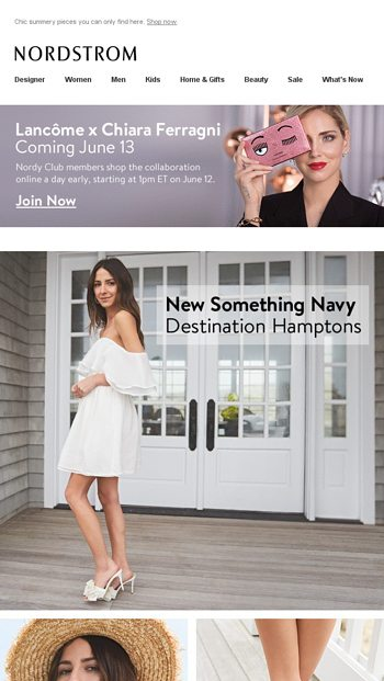 5198b7d459 New markdowns: up to 60% off - NORDSTROM Email Archive