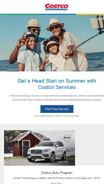 Stretch Your Summer Budget with These Costco Services