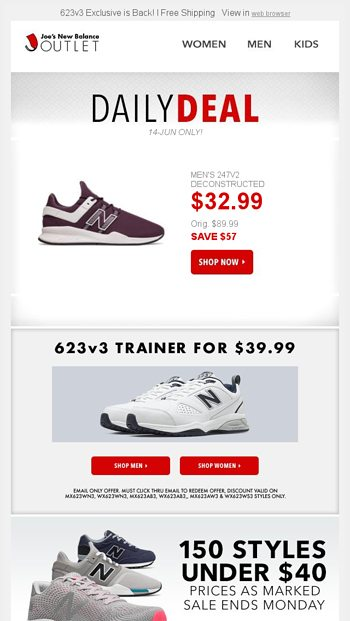 bbf484437b95c DAILY DEAL: 60% Off Men's 247v2 + Shoes Under $40