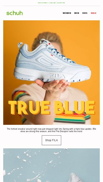 Time for a Spring Colour Update schuh Email Archive