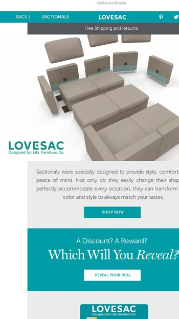Sactionals are the only couch that can grow with you