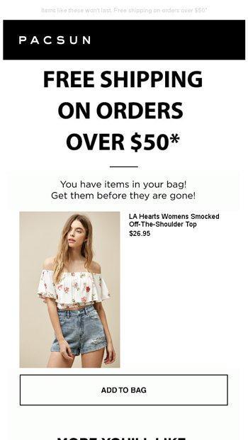 d49d2db005c8d0 Don t forget your LA Hearts Top! - PacSun Email Archive